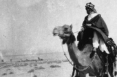 British adventurer, soldier and author, T E Lawrence, the leader of the Arab revolt against the Ottoman Empire, 1916 [Getty]