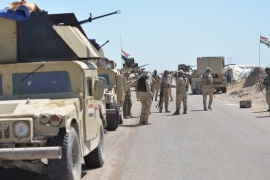 The Iraqi army is fighting ti liberate Fallujah, the first city to fall to ISIL two years ago [Reuters]
