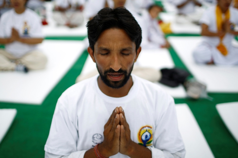 In the past 20 years yoga has been thrust from society's fringes into the mainstream  [Reuters]