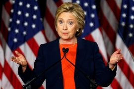 Clinton says Trump's ideas 'dangerously incoherent'