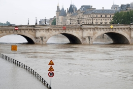 Flash floods continue in France and Germany