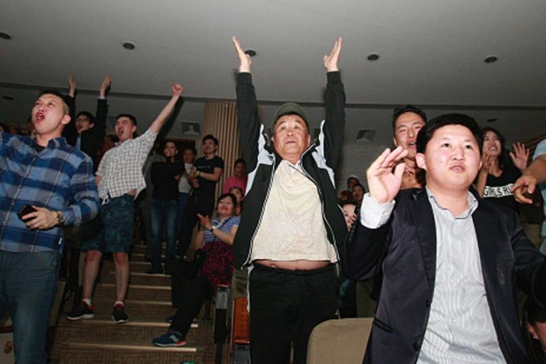 Opposition supporters hope the new government will boost the country's mineral-based economy [Getty Images]