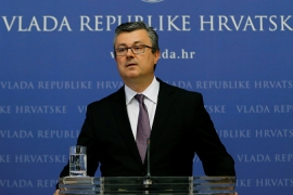 The vast majority of Croatian MPs voted against PM Oreskovic [Reuters]