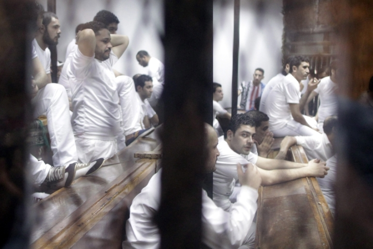 Egypt under Sisi has witnessed a sharp rise in mass death sentences[EPA]