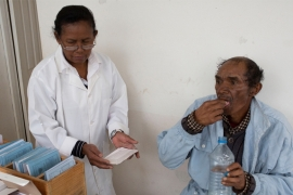 As treatment and medication is limited, drug resistant TB becomes more prevalent in Madagascar [Tom Maguire/Al Jazeera]