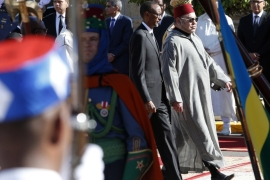 Morocco's King Mohammed VI and Rwanda's President Paul Kagame met last month in Casablanca [Source: Abdeljalil Bounhar/AP]