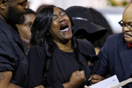 Alton Sterling: Funeral held in US state of Louisiana