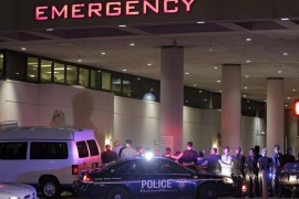 Dallas killings: Police shot dead by snipers at protest
