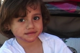 Farah was injured in 2009 when an Israeli phosphorus bomb hit her house in Gaza [Al Jazeera]