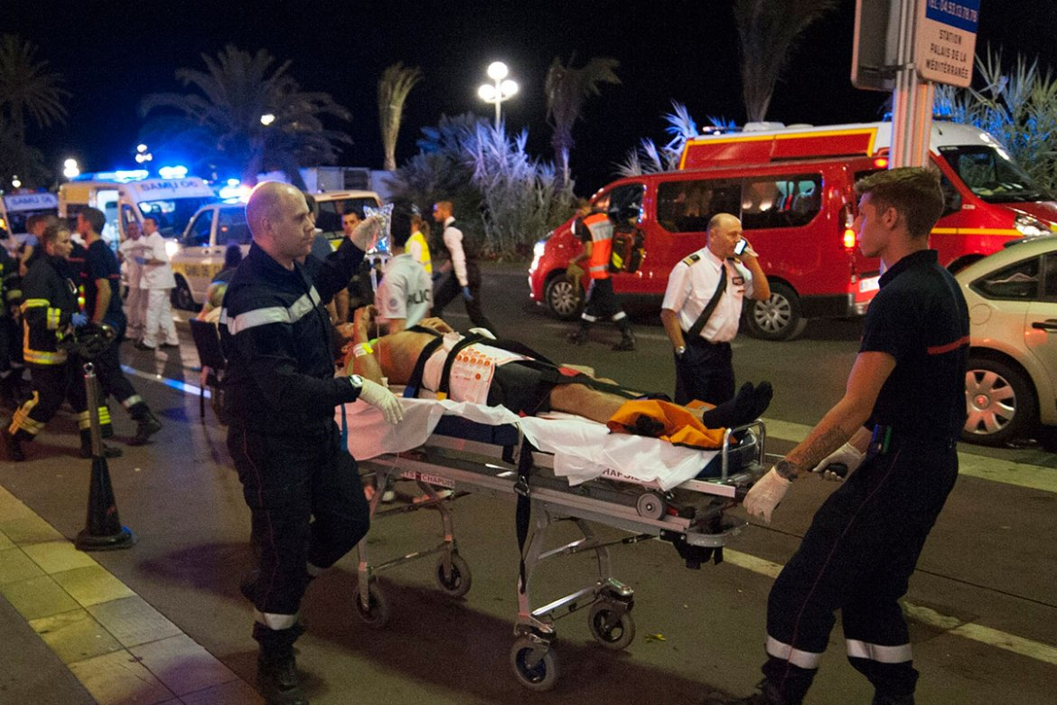 Nice Lorry Attack Scenes Of Carnage In French City France Al Jazeera