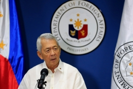 Yasay will represent the Philippines at the two-day ASEM summit [Romeo Ranoco/Reuters]