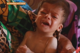 As war rages on, Syrian children starving to death