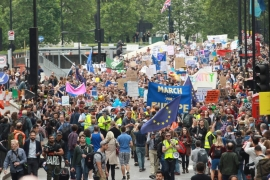 UK: Thousands take to London streets in pro-EU protest