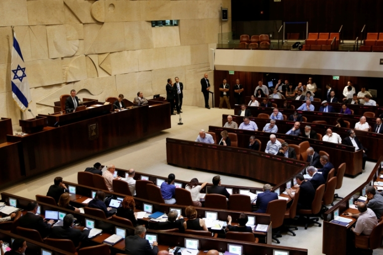 The Knesset recently passed the controversial 'NGO law', which appears to single out left-wing and rights groups as treacherous agents of insidious foreign powers, writes Diab [Reuters]