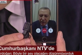 Erdogan resorts to iPhone's FaceTime after coup attempt