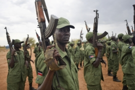 More than 300 people have died in the latest clashes between forces loyal to President Kiir and his rival, Vice President Machar [AP]