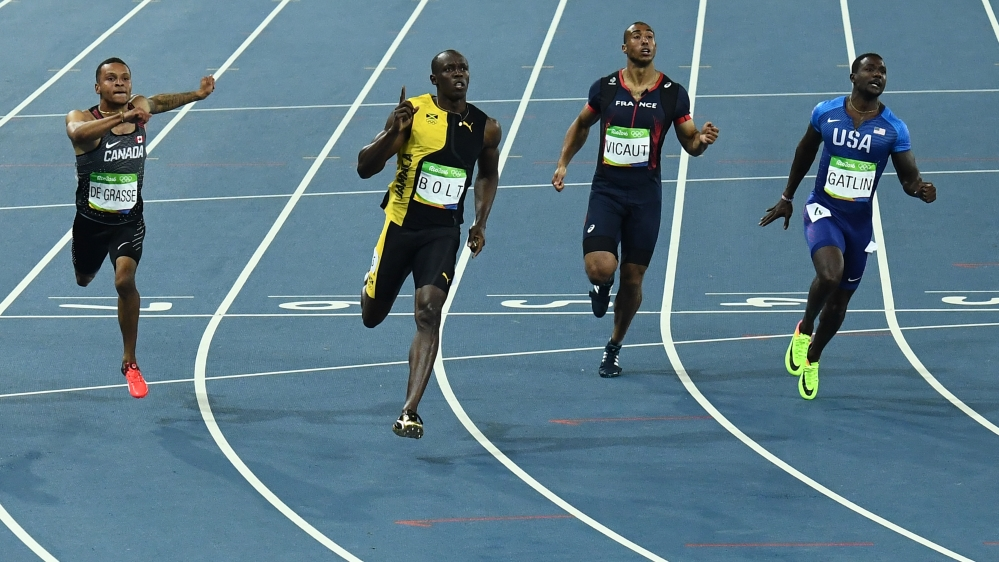 Rio 2016: Usain Bolt lands 100m Olympic gold | Sports News ...
