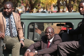 War veteran activists - former allies of Mugabe - have given the opposition movement a boost [EPA]