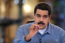 Maduro is fighting for his political survival amid a crushing economic crisis [Handout/Reuters]
