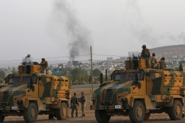 Turkey said the strikes were in response to ISIL mortar fire from across the border [File: Murad Sezer/Reuters]