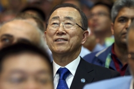 "UN Secretary-General Ban Ki-moon said on Monday that ""refugees are not to be seen as burdens"" [Reuters]"