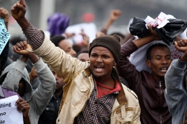 Dozens killed in Ethiopia protest crackdown