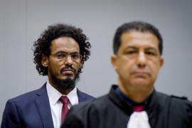 Al-Mahdi led an anti-vice squad which acted for the Islamic court of Timbuktu, while a member of a Tuareg rebel group allied with Al-Qaeda in the Islamic Maghreb [Robin van Lonkhuisen/Reuters]