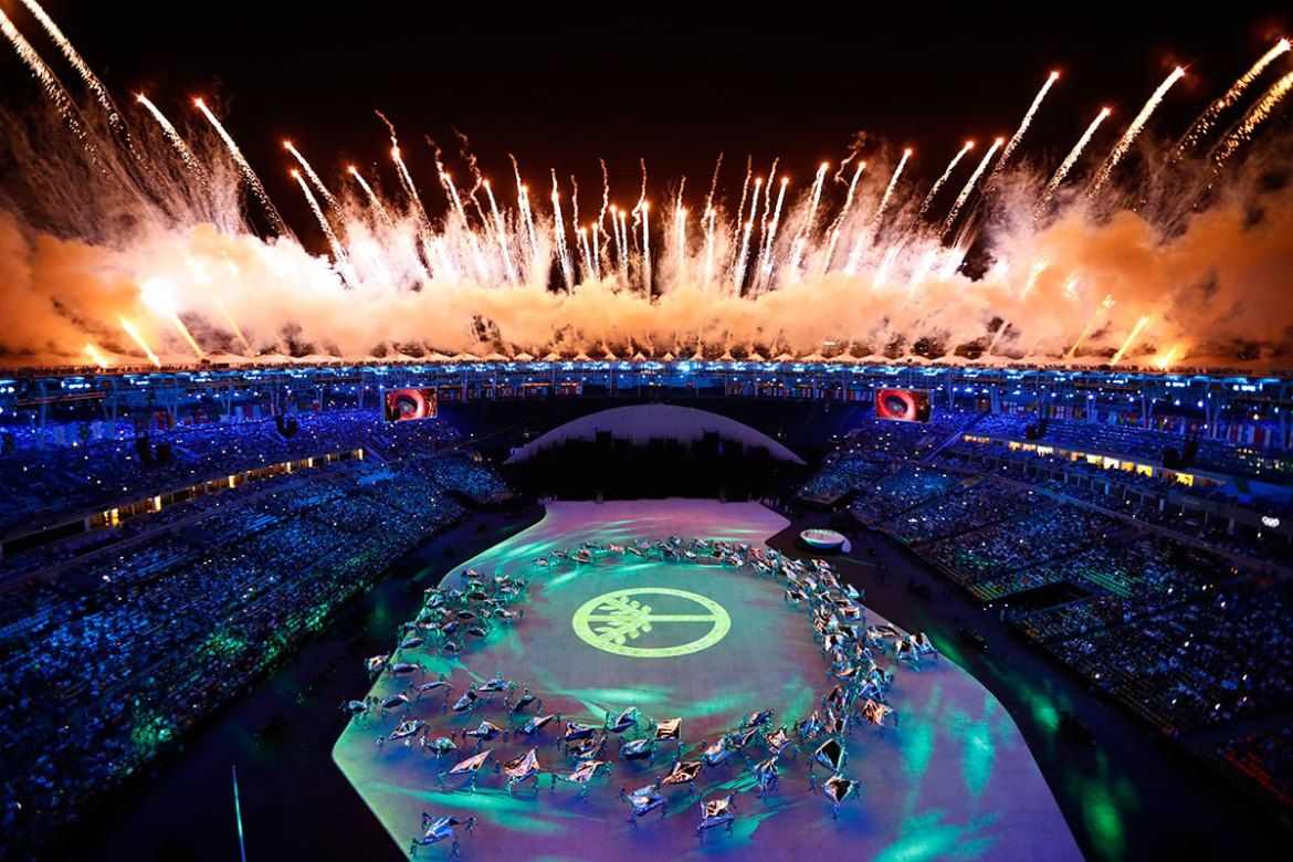 The 2016 Olympic Games will go on until August 21 and will be followed by the Paralympic Games from September 7. [Pawel Kopczynski/Reuters]