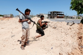 Libyan forces say they are closing in on 'District One', ISIL's last remaining stronghold in Sirte [Reuters]