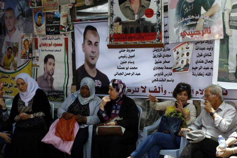 Of the more than 7,500 Palestinians currently in Israeli jails, around 700 are being held under an administrative detention law that allows for incarceration without trial. [EPA]