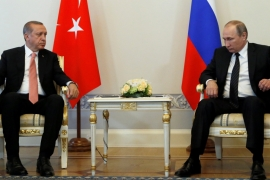 Erdogan travels to Russia to reset relations