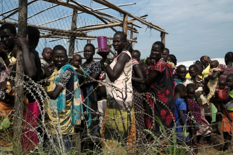 More than one million people have been forced to flee their homes across South Sudan [Reuters]