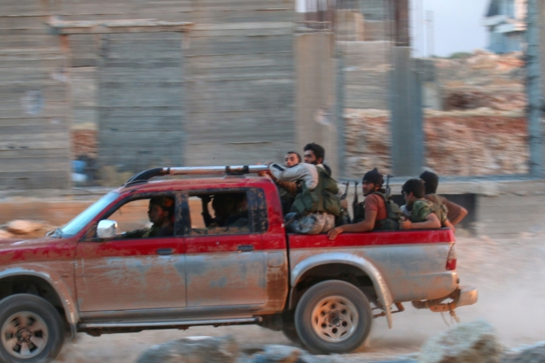 Syrian rebels have fought to hang on to recently captured territories in embattled Aleppo [Ammar Abdullah/Reuters]