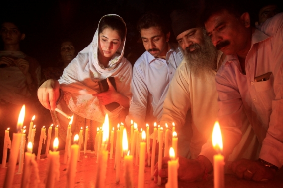 Pakistan is in a state of mourning after at least 70 people were killed in a suicide attack in Quetta [Fayaz Aziz/Reuters]
