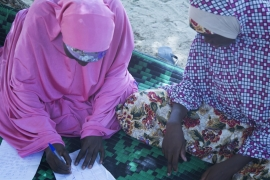 The women take classes at the safe house [Chika Oduah/Al Jazeera]