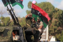 Haftar's forces are allied to a government in eastern Libya that opposes the UN-backed administration in Tripoli [Reuters]
