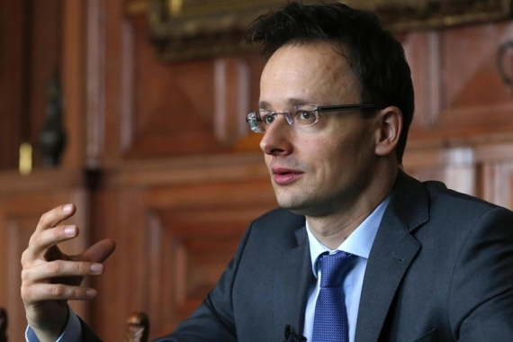 Peter Szijjarto, Hungarian foreign minister, said an EU report on the rule of law was expected to be a political statement rather than any well-founded assessment [File: Laszlo Balogh/Reuters]
