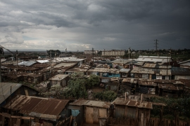 Kibera is the biggest slum in Africa. [Fredrik Lerneryd/Al Jazeera]