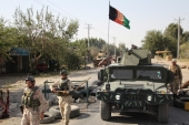 Afghanistan is once again under heavy assault by various terrorist groups, writes Malikyar [EPA]