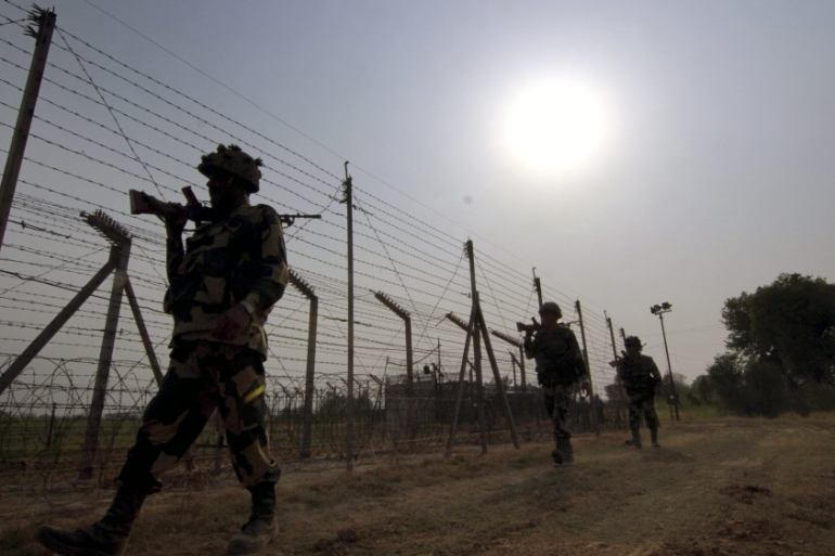 There has been a tenuous ceasefire in place at the LoC since 2003 [File: EPA]