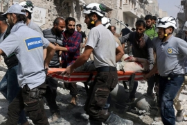 Aleppo residents plead for help as Syria fighting rages