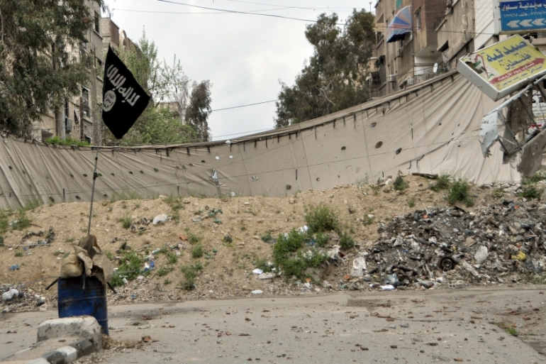 Yarmouk camp in southern Damascus remains under the control of armed fighters [File: Moayad Zaghmout/Reuters]