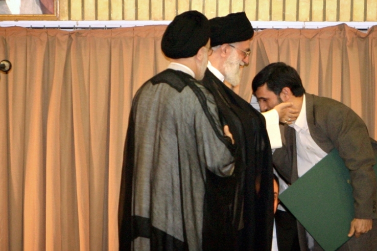 The Supreme Leader is seen as the final arbiter in the religious and political affairs in Iran [Reuters]