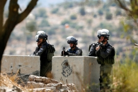 Israel has killed up to 223 Palestinians, including unarmed demonstrators and bystanders [File: Reuters]