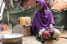 UN: 40 percent of Somalis don't have enough food to eat