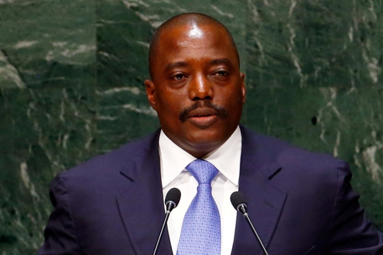 Kabila came to power after his father's assassination in 2001 [File: Lucas Jackson/Reuters]