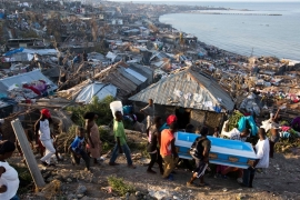 Horrors left by Hurricane Matthew become clear in Haiti