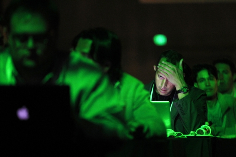 The disruptions come at a time of unprecedented fears about the cyber threat in the US [Beck Diefenbach/Reuters]