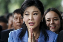After her overthrow, Yingluck was charged with criminal negligence over the rice subsidy scheme [Chaiwat Subprasom/'Reuters]