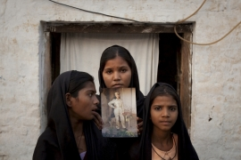 Asia Bibi (in the picture), a young Christian woman, has been on death row for the past eight years [File: Adrees Latif/Reuters]